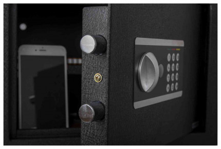 Protector Domestic DS2535E Digital Electronic Home Security Safe - Door bolts