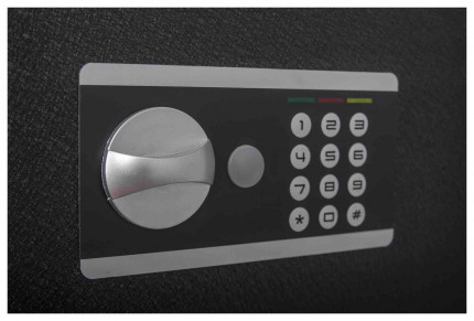 Protector Domestic DS2535E Digital Electronic Home Security Safe - Digital Keypad