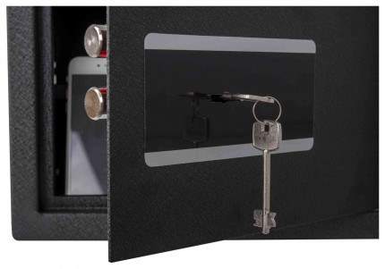 Protector Domestic DS2535K Key Locking Home Security Safe - key lock