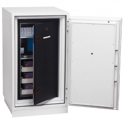 Phoenix Data Commander DS4621F Fingerprint Fire Tape Cabinet - Data fire door ajar