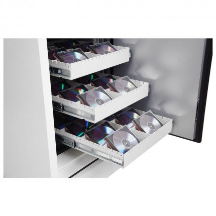 Phoenix Data Commander DS4622F Fingerprint Fire Tape Cabinet - tape drawer detail