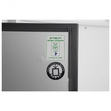 Phoenix Data Commander DS4622F Fingerprint Fire Tape Cabinet - test Certificate