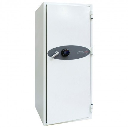 Phoenix Data Commander DS4622F Fingerprint Fire Tape Cabinet - door closed