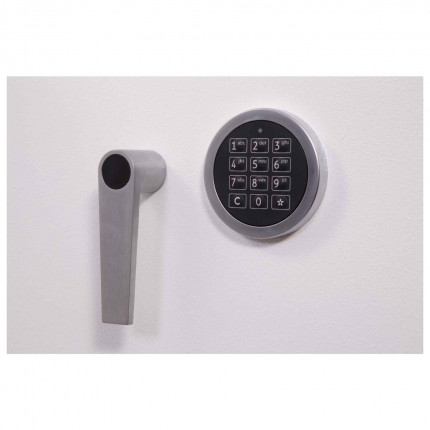 Phoenix Millennium DS4652E 2 Hour Fireproof EN1047 Data Safe - Lock detail
