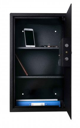 De Raat Protector Domestic DS6540E Electronic Digital Security Safe - Open