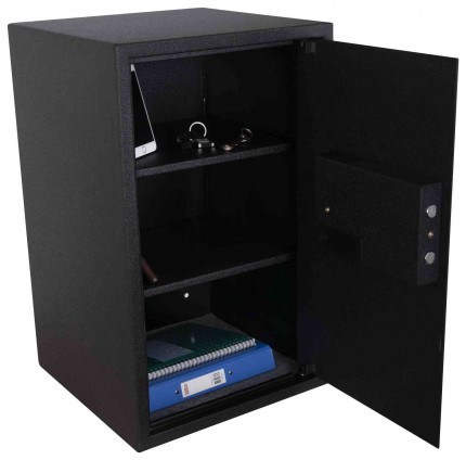 De Raat Protector Domestic DS6540E Electronic Digital Security Safe - interior view