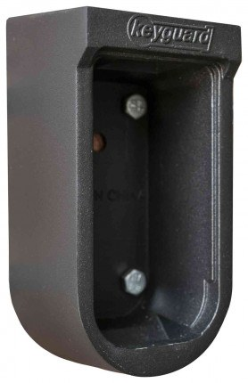 Keyguard Digital Mechanical Push Button Outdoor Key Safe - door removed