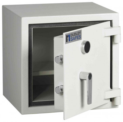 Dudley Compact Home Safe Fire £5000 Security - Door ajar