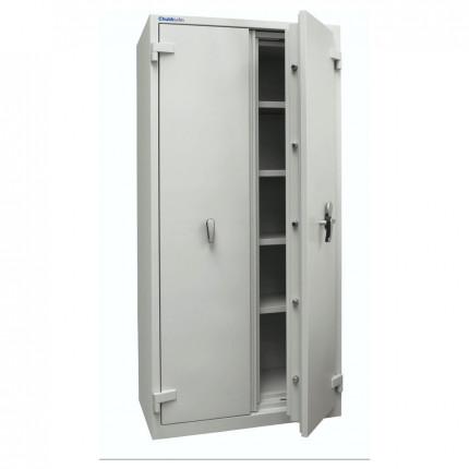 Chubbsafes Duplex 550 Fire Security Cupboard £4000 Insurance Rated door ajar
