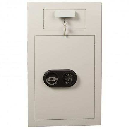 De Raat ET-D3 Time Delay Electronic Deposit Safe - front view