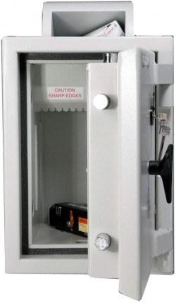Rotary Deposit Safe £6000 - Dudley Eurograde 0 Size 2 - door open