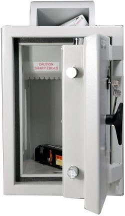 Rotary Deposit Safe £6000 - Dudley Eurograde 0 Size 2.5 - door open
