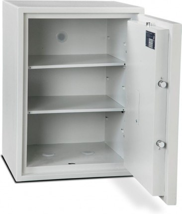 Burton Eurovault Aver 4K Police Approved Security Safe fully open