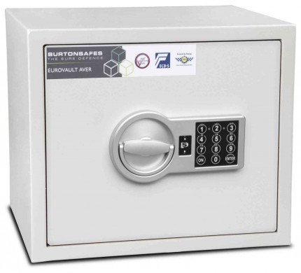 Burton Aver S2 1E Insurance Approved Electronic Security Safe
