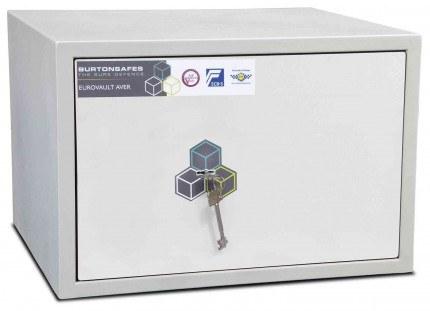 Burton Aver 2K Insurance Approved Key Locking Security Safe