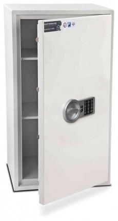 Burton Aver 5E Insurance Approved Electronic Security Safe - door ajar