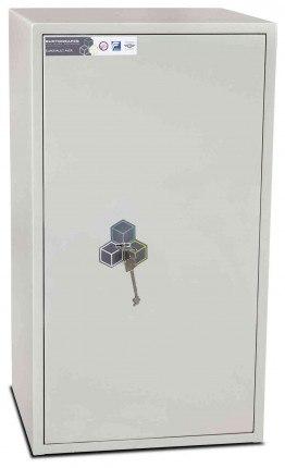 Burton Aver S2 5K Insurance Approved Key Locking Security Safe - door closed
