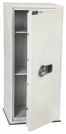 Burton Aver S2 6E Insurance Approved Electronic Security Safe - door ajar