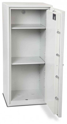Burton Aver S2 6K Insurance Approved Key Locking Security Safe - Door wide open