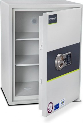 Burton Eurovault Aver 4E Police Approved Security Safe door ajar