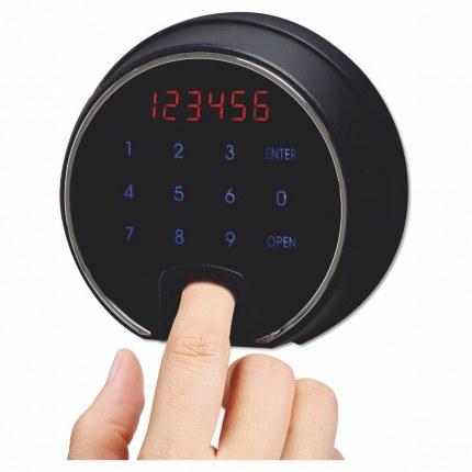 Phoenix Next LS7003FO Luxury Oak Panel 60 mins Fire Security Safe - electronic lock