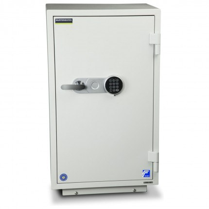 Burton Firebrand XL-1 Electronic Fireproof Security Safe - door closed