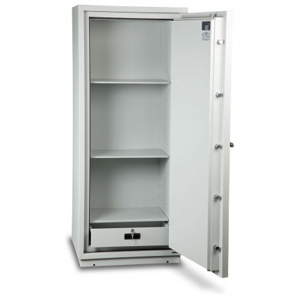 Burton Firebrand XL-3 Electronic Fireproof Security Safe - door wide open