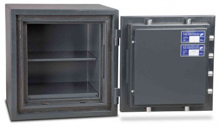 Burton Firesec 10/60 1E Electronic Eurograde 1 Fireproof Safe - door open