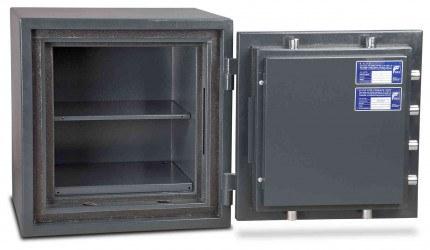 Burton Firesec 10/60 1K Key Locking Security Fireproof Safe - door open