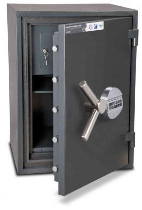 Burton Firesec 10/60 2E Electronic Security Fireproof Safe - door ajar