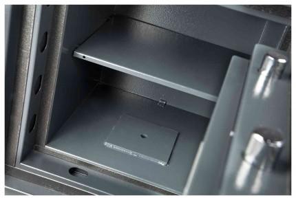 Burton Firesec 4/60 1E Electronic Security Fireproof Safe - interior