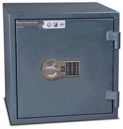 Burton Firesec 4/60 2E Electronic Security Fireproof Safe