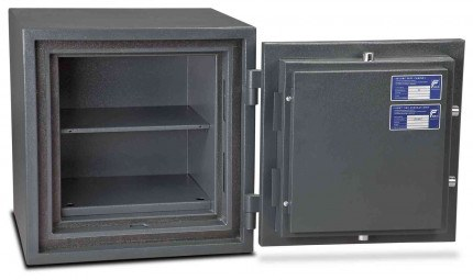 Burton Firesec 4/60 2E Electronic Security Fireproof Safe - door open