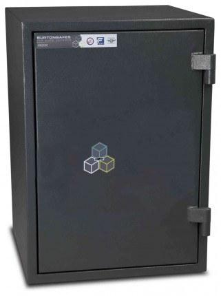 Burton Firesec 4/60 3K Key Locking Security Fireproof Safe