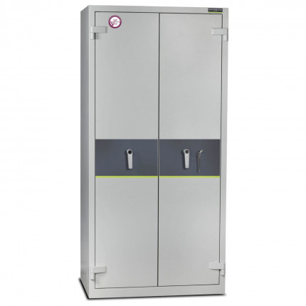 Burton Firesec 4/60/4E Electronic Security Fireproof Cabinet - door closed