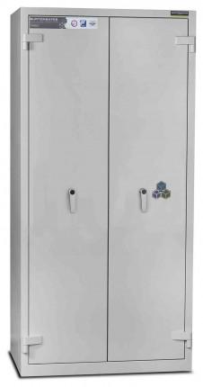 Burton Firesec 4/60/4K Key Lock Security Fireproof Cabinet - door closed