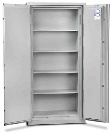 Burton Firesec 4/60/4E Electronic Security Fireproof Cabinet - door open