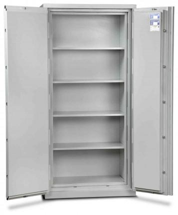 Burton Firesec 4/60/4K Key Lock Security Fireproof Cabinet - door open