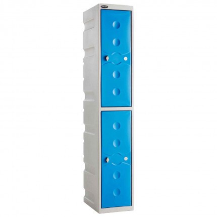 Probe UltraBox 2 Door Plastic Locker - Blue