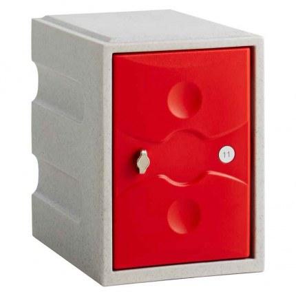 Probe UltraBox Water Resistant Mini Plastic Locker - red