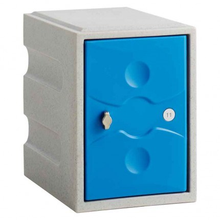 Probe UltraBox Water Resistant Mini Plastic Locker - blue