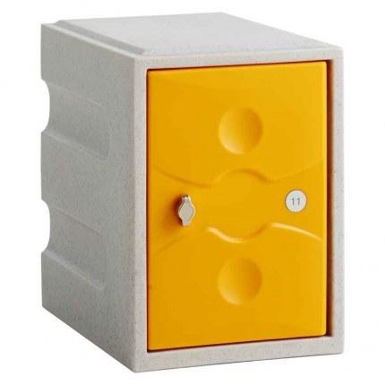 Probe UltraBox Water Resistant Mini Plastic Locker - yellow