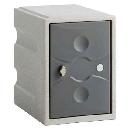 Probe UltraBox Water Resistant Mini Plastic Locker - grey