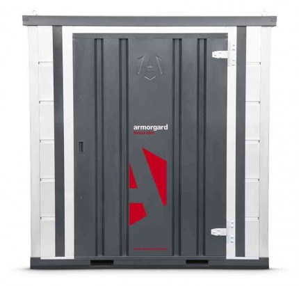 Armorgard Forma-Stor FR100-T Walk-in Security Site Store - face on view