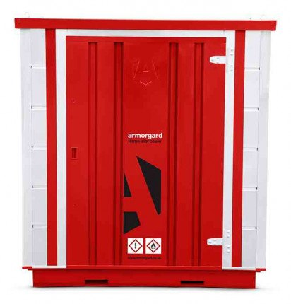 Armorgard Forma-Stor FR100-C Walk-in COSHH Site Store - face on