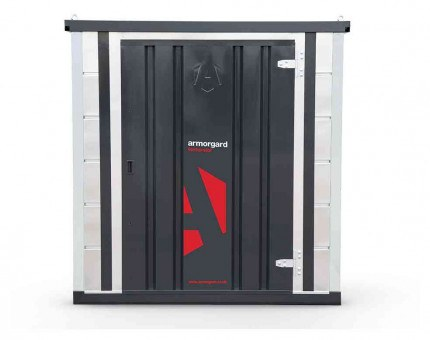 Armorgard Forma-Stor FR200-T Walk-in Security Site Store - face on view