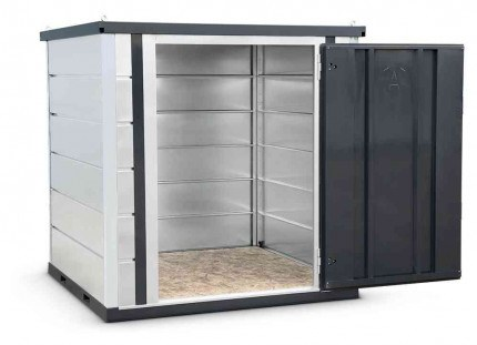 Armorgard Forma-Stor FR200-T Walk-in Security Site Store - wooden floor