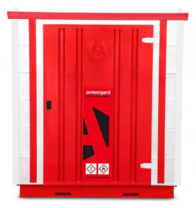 Armorgard Forma-Stor FR200-C Walk-in COSHH Site Store - face on