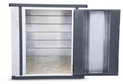 Armorgard Forma-Stor FR400-T Walk-in Security Site Store - door open