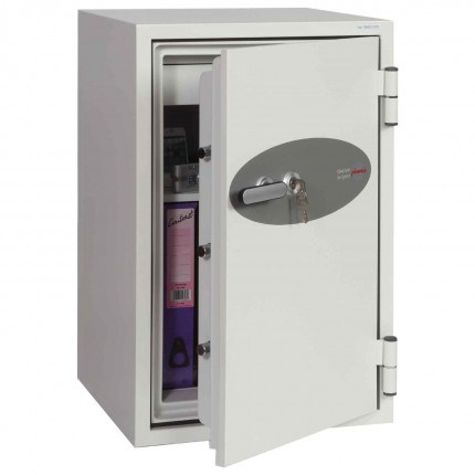 Phoenix Fire Fighter FS0442K 90 minutes Fireproof Safe - door ajar